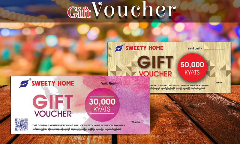 Sweety Home Gift Voucher